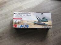 Parkside Soldering Iron With Multi Purpose Holder with original box