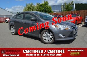 2012 Ford Focus SE Certified! Bluetooth! Power Options! Fog Ligh