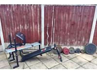 Weight set//Home gym equipment