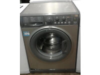 B555 Graphite Hotpoint 6kg 1400Spin A* Rated Washing Machine, Comes With Warranty & Can Be Delivered