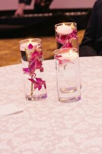 Glass Vase Centerpiece Set of 3 (3 sets available) for $27 total
