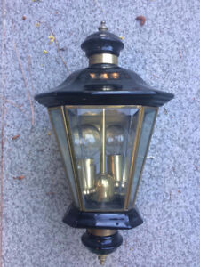 Outdoor wall lights! Great Condition!