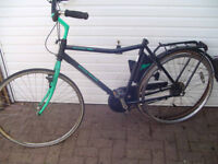 Dutch Style bike - Kettler Ladies Cycle Large size 5 speed, needs work, saddle and derallier