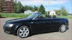 2004 Audi A4 *3.0L CONVERTIBLE , INSPECTÉ * GARANTIE 1 AN QUATTR