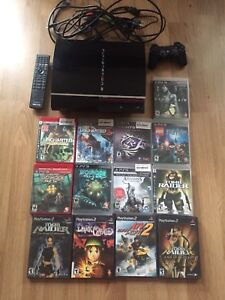 PS3 - console, accessories and games