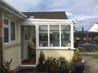White Conservatory for sale! Great Condition!