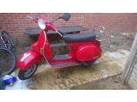 Vespa P200 disc 210 malossi Micron Chrome Exhaust
