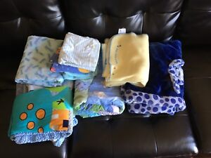 lot of baby blankets