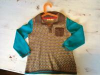 Little Birds boys knitted top. Age 5-6
