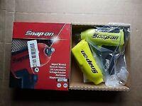 Ltd edition SNAP ON 1/2 air impact gun Hi-vis Brand NEW in box