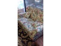 sofa bed floral design
