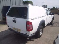 Ford Ranger supercab truck top back only with keys and fittings