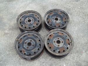 4x114.3 Bolt Pattern Steel Wheels