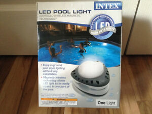 (New - Never used) Above ground LED Pool Wall Light