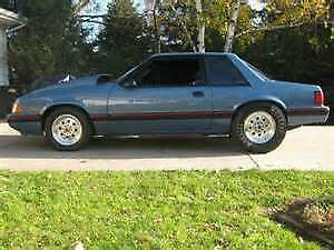 1987 Ford Mustang Coupe (2 door)