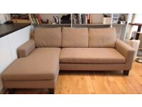 3 Seater Corner Sofa with Interchangeable Chaise