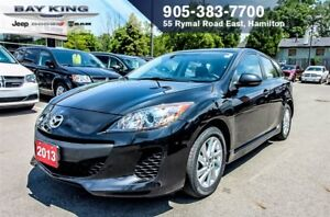 2013 Mazda MAZDA3 GS-SKY, SUNROOF, A/C, PWR WINDOWS & LOCKS