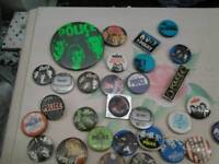 The police music band job lot badges cool