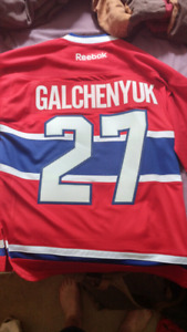 Brand new worn once montreal canadiens jersey