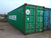 40ft Hi-Cube Shipping Containers VAT FREE