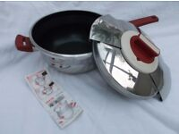Tefal Sesame Stainless Steel Fast Cooker in excellent condition