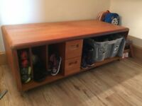 Meredew solid wood table/coffee table