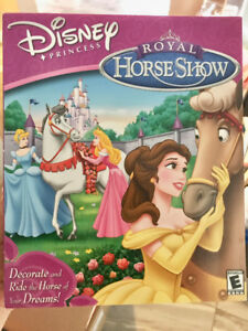 Disney Princess Royal Horseshow PC Game
