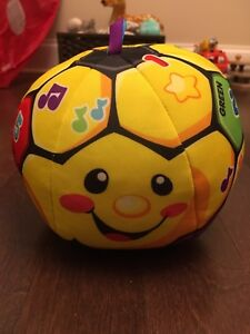 Fisher Price Laugh n Learn Soccer Ball