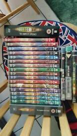 Doctor who dvds and blu rays and other collectibles