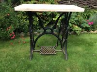 Singer Sewing Table with Scaffold Board Top