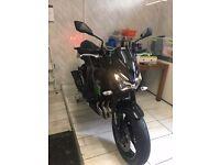 Kawasaki z800 BGF ABS 1600miles FSH