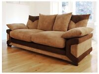 Brand new 3+2 rhino cord sofa collection**2 colours**50% reduction from the original RRP price