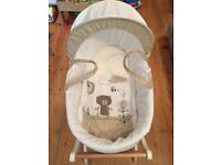 Moses basket (new) and stand