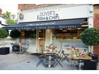 Full Time and Part Time counter and waiting staff for busy Fish and Chip shop