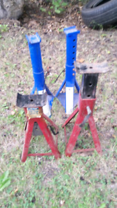Two Pairs of 2-Ton Jack Stands.  Good Condition.  Only $45/obo.
