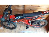 "16"" Boys Motorbike bicycle"