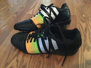 Adidas youth size 8 indoor turf cleats