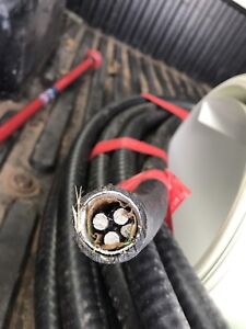 3 phaze underground electric cable , New