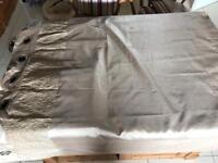 2 pair of curtains and 2 cushions