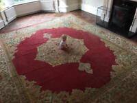 Xxl large wool rug (child not included - just there for perspective)