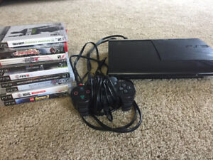 PlayStation 3 and all games included!