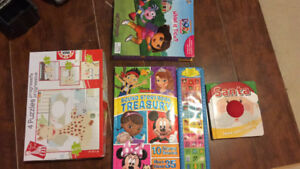 baby books and puzzle