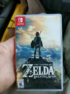 Trading Zelda Breath of the Wild for other Switch games