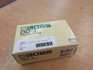 **3 DELAY MODES** Boss DD-3 Digital Delay Pedal