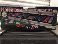 Professional Poker Set 500 11.5g Chips London
