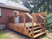 DECK/ FENCE CONSTRUCTION REPAIR/REFINISHING