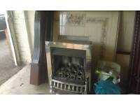 Gas fire and suround