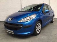 2007 PEUGEOT 207 1.4 S 5dr *** FULL YEARS MOT ***