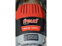 Freud Professional Plunge Router 1900 watts 240 volts, 3,3/4 Horse Power