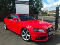 2008 Audi A4 3.0TDI ( 240PS ) quattro S Line(RARE IN RED,HISTORY,WARRANTY)